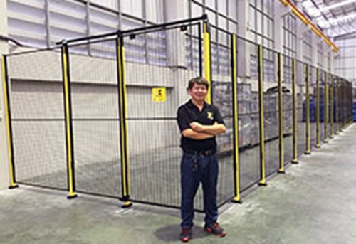X-Guard – popular mesh panels in Thailand